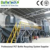 Рециркуляционная система 1500 хлопьев пластмассы моющего машинаы бутылки любимчика Kg/H