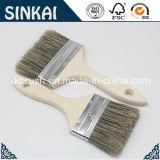 Cepillo de pintura superior de la cerda del grado con la maneta plástica