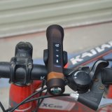 jinete eléctrico de la bicicleta de las antorchas de Bluetooth de la batería de la potencia del cargador del USB 2600mAh del altavoz del deporte al aire libre LED de la música sin hilos de la linterna para el iPhone de Apple todos los teléfonos elegantes