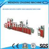 Geen Omgekeerde Volledige Automatische niet Geweven Zak die van het Type van Doos Machine (WQB600) maakt