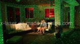 Лазерный луч звезды ночи, напольные лазерные лучи рождества, миниый репроектор выставки лазерного луча