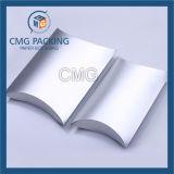 Het glanzende Zilveren Vakje van het Hoofdkussen van het Document (cmg-pgb-021)