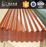 Prepainted建築材料は波形の屋根ふきシートに電流を通した