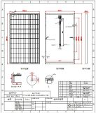 Alta transferencia eficiente de silicio monocristalino del panel solar 60W / 80W / 100W 18V / 24V / 36V
