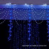عيد ميلاد المسيح زخرفة مرحلة [لد] ستار ضوء
