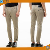 Hombres 2016 pantalones ocasionales del cargo del algodón de la tela cruzada de la manera