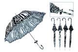Ombrello compatto di alluminio di Black&White (YS-3FM21083937R)