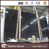 Losa de mármol de madera negra pura de la alta calidad