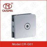 0 degrés la bride en verre carrée de pièce de douche de moulage mécanique sous pression (CR-G01)