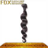 長続きがする巻き毛の人間の毛髪のWeft毛の拡張アクセサリ
