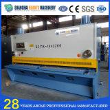 Máquina de corte da guilhotina hidráulica do CNC de QC11y