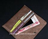 Мягкое кожаный Bifold портмоне Silm бумажника для женщин