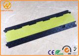 Rubber ElektroVloer 3 van de Draad de Helling van de Beschermer van de Kabel van het Kanaal Openlucht