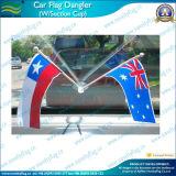 Mini drapeau de surgeon en plastique d'aspiration pour la fenêtre de voiture ou le mur (J-NF24F03006)