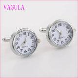 Mancuernas de plata &#160 de Gemelos del reloj caliente de las ventas de la calidad de VAGULA; (328)