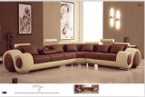 Sofà moderno stabilito della mobilia del sofà domestico del cuoio con il sofà del Recliner