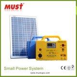 30W de draagbare Uitrusting van het Systeem van de ZonneMacht voor de Verlichting van het Huis