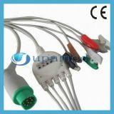 Cable de Siemens ECG con los Leadwires