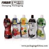 ジュースはDoypack Y1596の印刷された包装のMunufacturerの詰め替え式の飲料袋をカスタマイズした