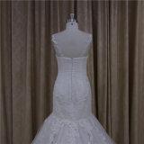 Новое платье венчания мантии шарика Mermaid Applique типа 2016