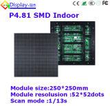 屋外のフルカラーの使用料のLED表示P4.81 1/13スキャン