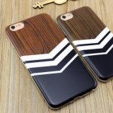 Изготовленный на заказ деревянное iPhone аргументы за телефона IMD TPU