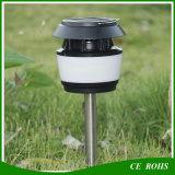 小さい円形の太陽LEDランプの太陽ポストライト太陽庭のランタンの反カの太陽経路ライト