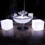 가정 다방 바를 위해 좋은 다색 변화 LED 커피용 탁자