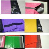 Bolso plástico durable del sobre del embalaje del color rojo