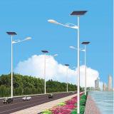 Подгонянный уличный свет датчика движения 6W-100W RoHS CE ISO EMC СИД аттестованный IP65 напольный интегрированный солнечный