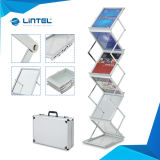 Stand acrylique de littérature du support de magasin A4 (LT-05B)