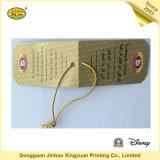 Подгоняйте бумажную бирку Hang для одеяния (JHXY-HT0010)