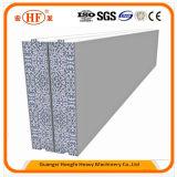 Operación automática vertical EPS Máquina de fabricación de placa pared de partición