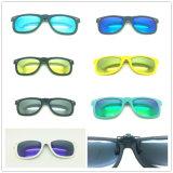 Gafas de sol con clip polarizadas plástico del diseñador
