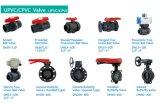 DIN ISO9001를 가진 Wate 공급을%s PVC에 의하여 스레드되는 공 벨브