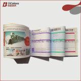 Libro di ricevuta senza carbonio stampato della copia