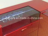 Gabinete de exhibición de cristal de madera del hogar italiano del estilo (SM-D36)