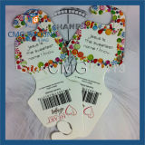 Charm Necklace Display Card Samll Box para colar (CMG-059)