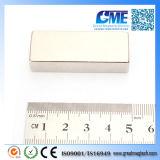 Magneet van uitstekende kwaliteit van het Blok van NdFeB van de Zeldzame aarde F50X20X10mm de Grote