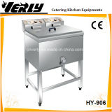 商業Standing 1 Tank 2 Basket 25L Single Electric Deep Fryer (HY-906)
