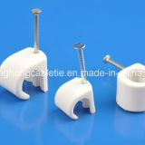 Kabel Clips (PE, WHITE, 7mm)