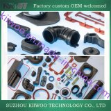 O fabricante da borracha parte as peças especiais da borracha de silicone