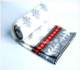 Polyester 100% Polar Fleece Blankets mit Paper Tapes