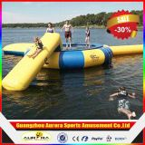 PVC Tarpaulin Inflatable Water Trampoline Combo di 0.9mm per Water Sports