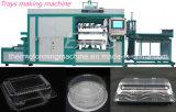 제조자에서 자동적인 고속 처분할 수 있는 플레스틱 포장 쟁반 진공 열 형성 만드는 기계