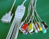 Nihon Kohden 10 de Kabel van Snap&Clip EKG/ECG
