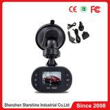 G-Sensor barato da visão noturna do zoom da câmara de vídeo 4X Digitas do carro DVR C600 HD 720p do preço