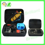 Caixa impermeável da câmera de EVA Gopro com inserção da esponja (CC-02)