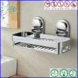 Supporto accessorio della cremagliera della stanza da bagno dell'organizzatore della mensola dell'angolo del carrello dell'acquazzone