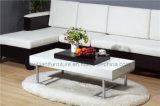 Белые кофеий меламина/таблица чая домашней мебели (DMEA016)